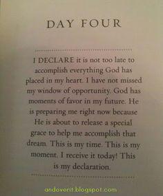 I Declare!