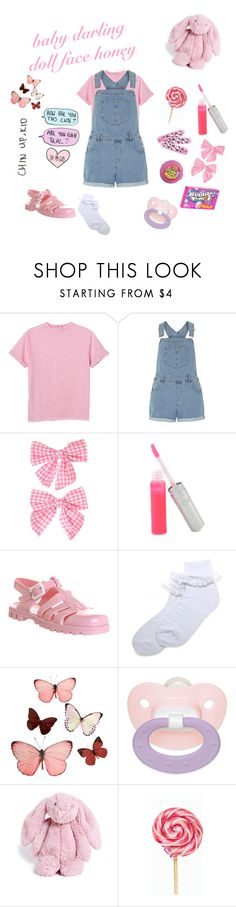 """dd/lg"" by xcchelseaax ❤ liked on Polyvore featuring Monki, Dorothy Perkins, Clips, T. LeClerc, Hello Kitty, JuJu, Pieces, H&M, Jellycat and WALL"