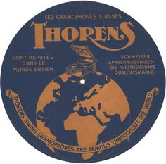 thorens - famous throughout the world.