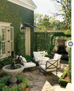 Master bedroom patio. So gorgeous. ONE DAY I will have a gorgeous garden patio!!                                                                                                                                                                                 More