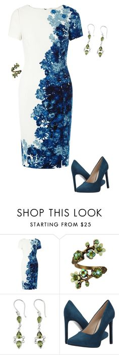 """""""Petra Solano 1.3 {Jane the Virgin}"""" by sarah-natalie ❤ liked on Polyvore featuring Adrianna Papell, Olivine, NOVICA, Nine West, cw, janethevirgin and petrasolano"""