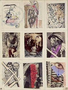 Dessin collectif  -  Wifredo Lam, André Breton -1940