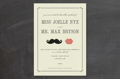 These are too cute. Actually, I want every invitation on this whole site! So unique and creative.