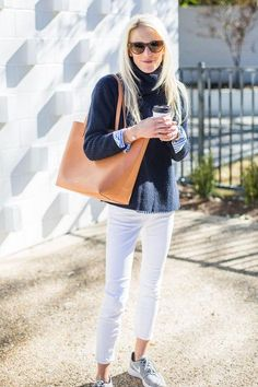 Cute preppy outfits for fall that involve colors other than dark neutrals? Yes, please. Click for 10 ideas we love!