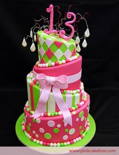 cakes for teenage girls | 13th Birthday Party Ideas For Girls | Best Birthday Party