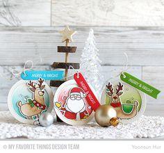 Merry Everything Stamp Set & Die-namics, Tag Builder Blueprints 6 Die-namics - Yoonsun Hur  #mftstam