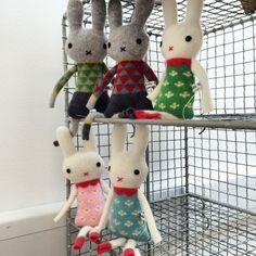 Sally Nencini bunnies