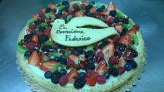 fruit tart cake