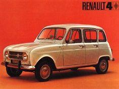 Renault 4 / DAS war mein erstes Auto! Ich hatte ihn in Grasgrün und nannte ihn HÜPFER :-) So einen hätte ich gerne wieder als Zweitwagen, einfach JUST FOR FUN :-)))
