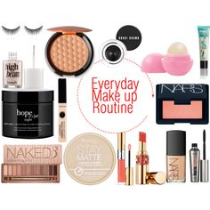 """Everyday Make up Routine"" by mollie-simmonds on Polyvore"