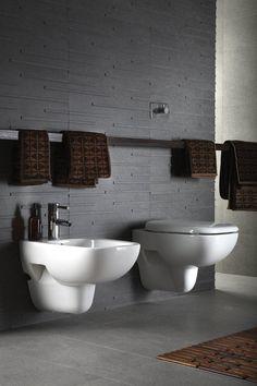 suzie: bellfia - gray masculine modern bathroom design with gray