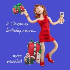 An Erica Sturla birtday card, for all of us with December birthdays!