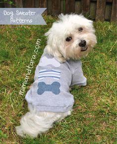 Mimi & Tara   Free Dog Clothes Patterns: Dog Sweater Patterns