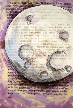 art journal inspiration - La Luna $24.00