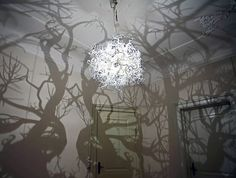 Amazing Chandelier Transforms Any Room Into a Fairytale Forest