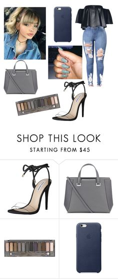 """different vibe✌"" by lovvveeeeee ❤ liked on Polyvore featuring Steve Madden, Jimmy Choo and Urban Decay"