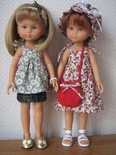 Patron de base robe d été Les Chéries Ecole De Couture, Couture Poupee, 47f89300089