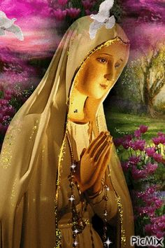 Jesus And Mary Pictures, Mother Mary Images, Catholic Pictures, Pictures Of Jesus Christ, Images Of Mary, Mary And Jesus, Blessed Mother Mary, Blessed Virgin Mary, Gud Morning Images