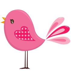 Pink and Yellow Birds - Birds02.png - Minus