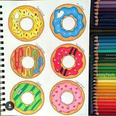 Donuts de apps sociales