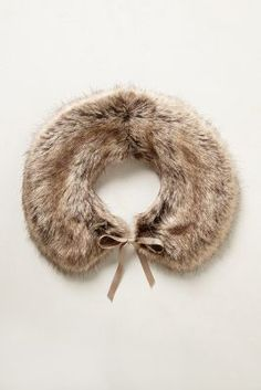 love myself a fall fur collar!