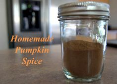 Make your own Pumpkin Spice at home. It will save you money and you know the ingredients going into it!