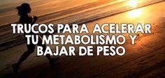 Trucos para acelerar tu metabolismo y bajar de peso  http://nutricionysaludyg.com/dietas-saludables/acelerar-metabolismo-bajar-de-peso/