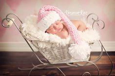 Baby Girl  Hat  Crochet Newborn Baby Girl Or by JerribeccaHats2, $21.99