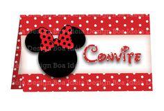Convite Minnie!