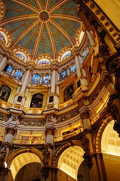 Ch.11- Spanish Renaissance is absolutely stunning. I love the spanish culture in general and really appreciate the mix of moorish and renaissance design.  Granada Cathedral, Granada, Spain