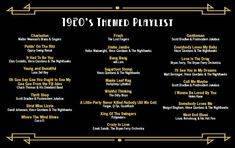 The perfect playlist for a Gatsby themed after party Prohibition Party, Speakeasy Party, 1920s Speakeasy, Great Gatsby Party, Nye Party, Oscar Party, Roaring 20s Party, Roaring 20s Wedding, 1920s Wedding Decor