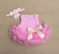 Baby girl first birthday outfit. Girls first by KadeesKloset