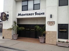 #Monterey's #1 sign shop! www.MontereySigns.com
