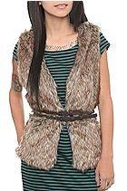 Hot Topic fur vest