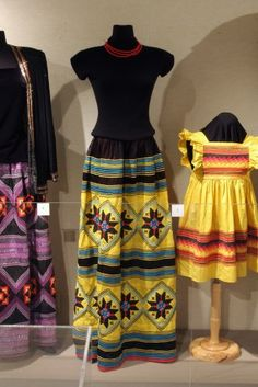 Seminole woman's outfit