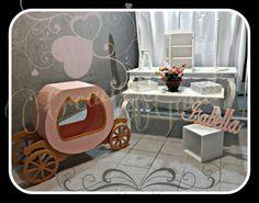 Mobiliario para candy bar princesas