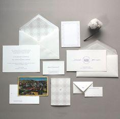 Pocket : 優雅的婚禮邀請函設計