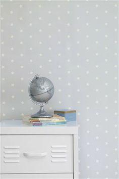 Light Blue Star Wallpaper From The Next Uk Online