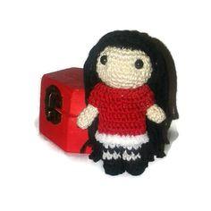 Mini amigurumi doll  Fairy  Mini crochet doll  by BeBunny on Etsy