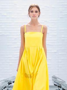 Apollo Dress in Yellow