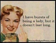 Some days.........