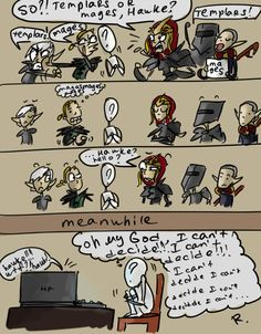Dragon Age 2 by ~Ayej on deviantART. I love this artist xD