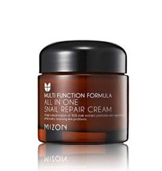 A truly innovative and hydrating cream formulated with 92% snail extract. You heard right. This best-selling cream has sold by the millions across Asia for its high efficacy ingredients. The All-In-One Snail Repair Cream hydrates, helps improve the appearance of fine lines, and helps reduce the appearance of acne scarring and blemishes. Try it to see what all the buzz is about. Ideal for oily and acne-prone to combination skin types.