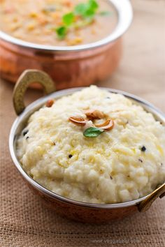 Ven Pongal Prasadam - Tasted first time for the month of Margazhi from Adi Kesava Perumal Temple, West Mambalam.