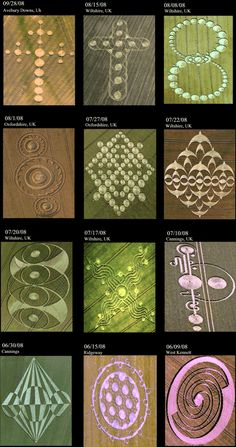 Crop Circles - News and Sightings From Around The World