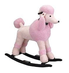 Charm Company Precious Poodle Rocker, Pink Pink