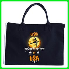 Lyda Wicked Witch Of Usa. Halloween Gift - Tote Bag - Totes (*Amazon Partner-Link)
