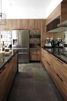 Jump to Rustic Kitchen Decor - Simplicity works like a beauty in a smaller kitchen area space. This rustic kitchen design permits homeowners to have a. Home Decor Kitchen, Interior Design Kitchen, New Kitchen, Kitchen Ideas, Kitchen Designs, Kitchen Inspiration, Warm Kitchen, Kitchen Modern, Kitchen Trends