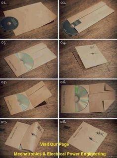 Home made CD packet