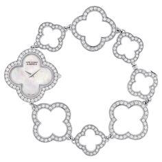 Van Cleef & Arpels Vintage Alhambra Bracelet Watch